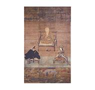 弘法大師・丹生高野両明神像(金剛峯寺蔵)